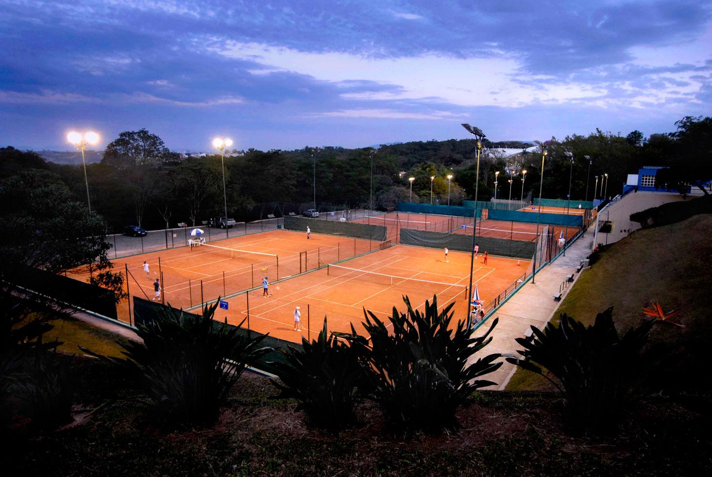 Tennis Garden - Quadras de Saibro