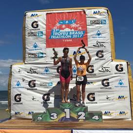 Patricia Gianini no Trofeu Brasil de Triathlon
