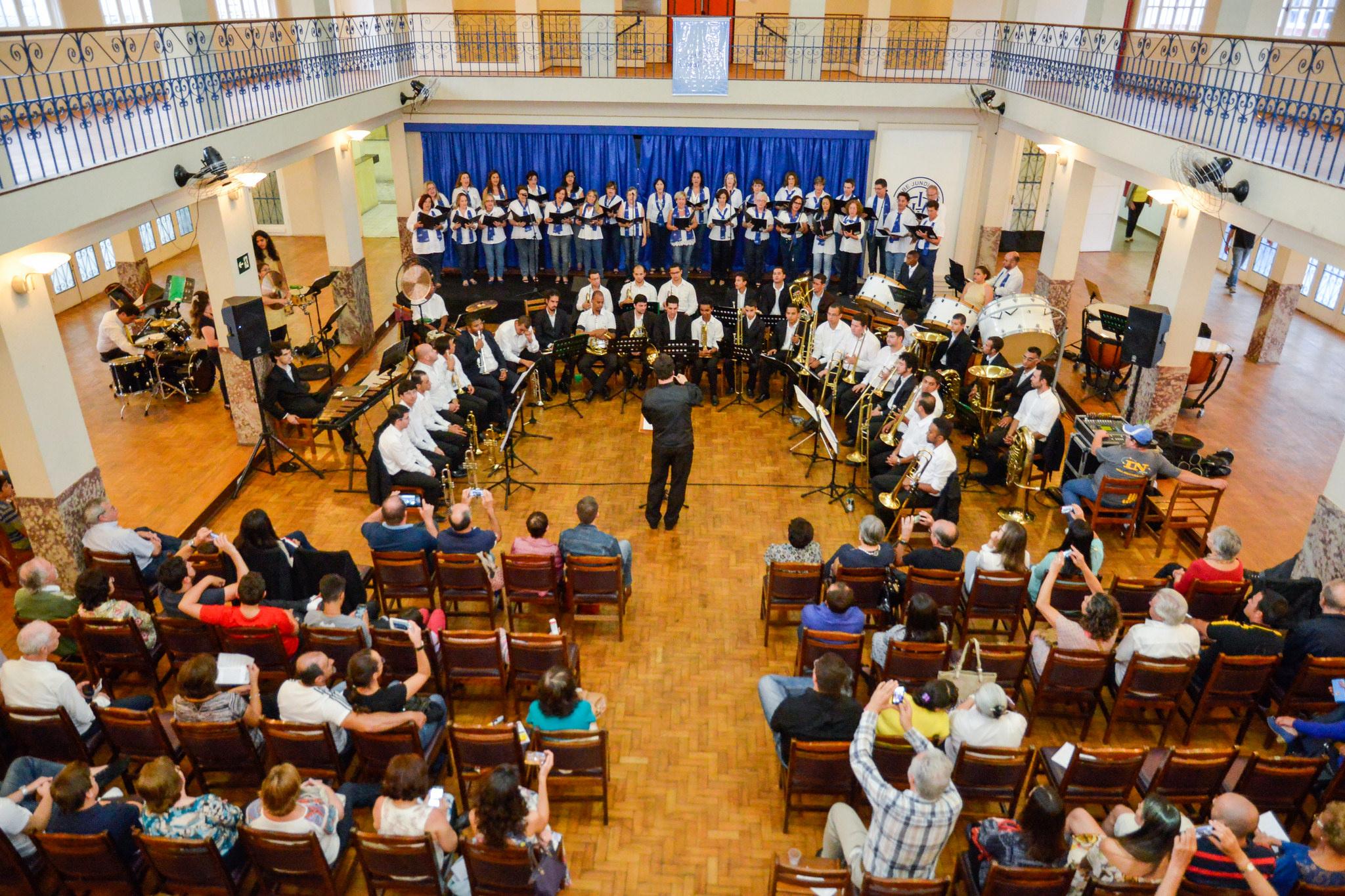 Coral Azul e Branco & Orquestra de Metais de Campo Limpo Paulista (25/10/2015) - Sede Central – Clube Jundiaiense