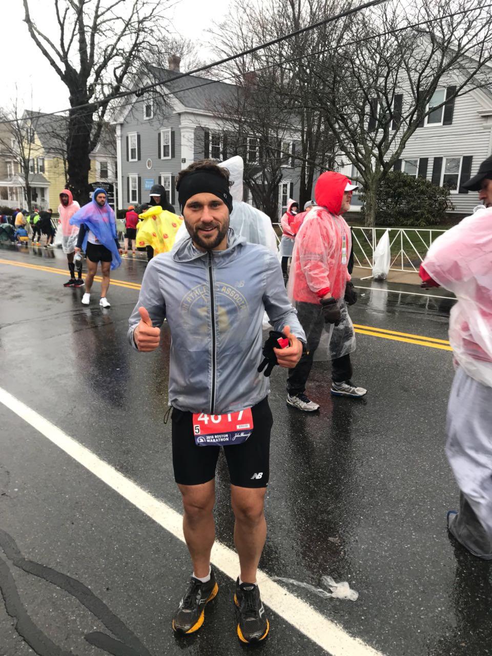 Mateus Drago na 123º Edição da Maratona de Boston