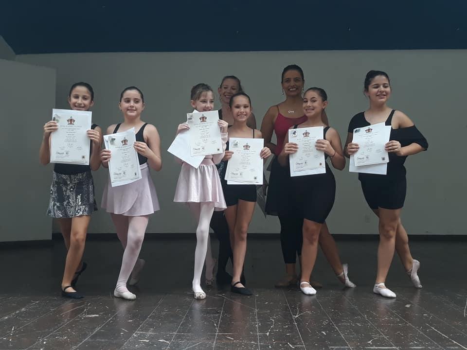 Alunas de Ballet do CJ
