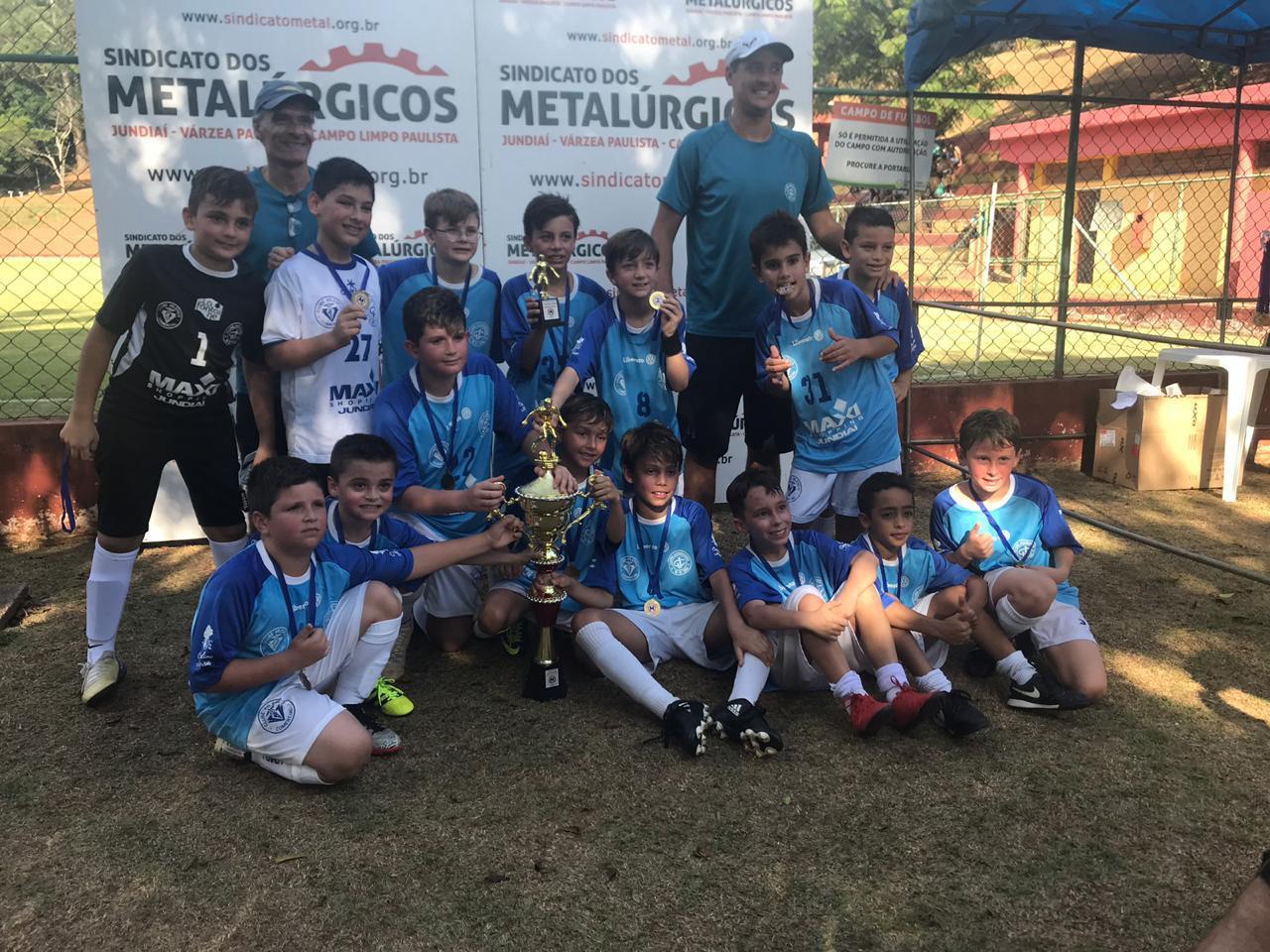 Futebol de Campo sub-13 - Campeão do Campeonato Aberto de Futebol