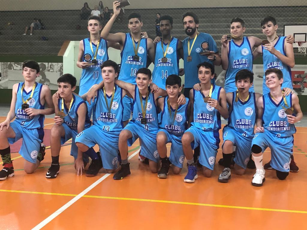 Basquete sub-14 - Campeão da LMB