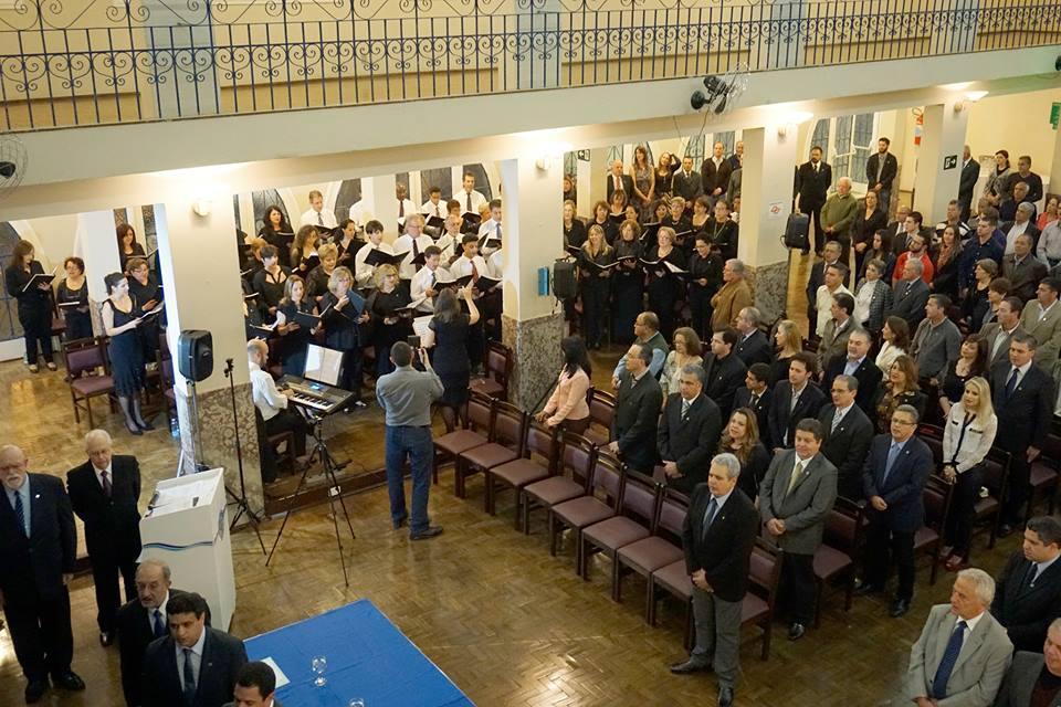 Solenidade de Comemoração dos 70 anos do Clube Jundiaiense (18/08/2014) - Sede Central