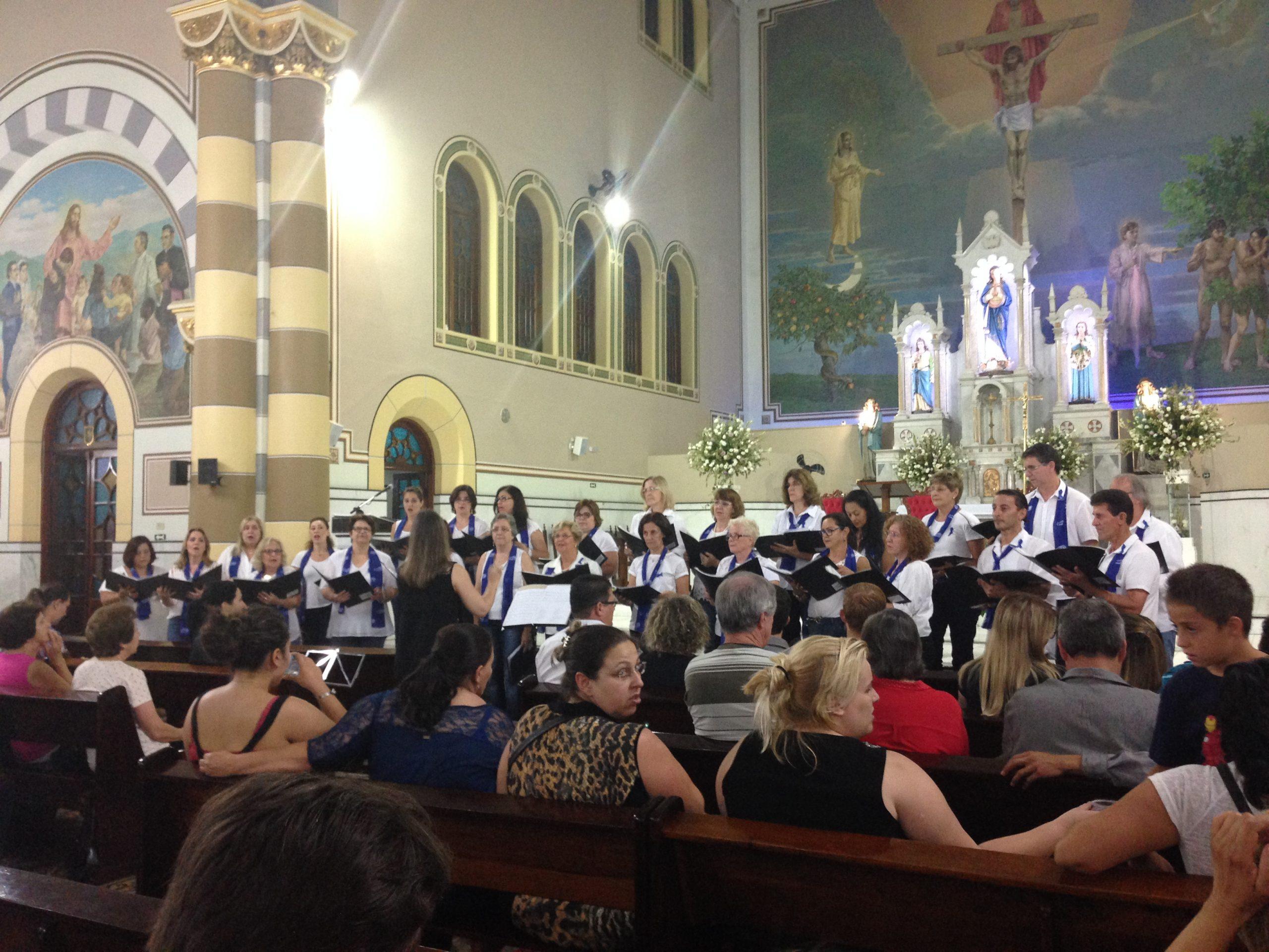 17-XXVI Encontro de Corais de Jundiaí (10/11/2015) - Paróquia Nossa Senhora da Conceição - Vila Arens.