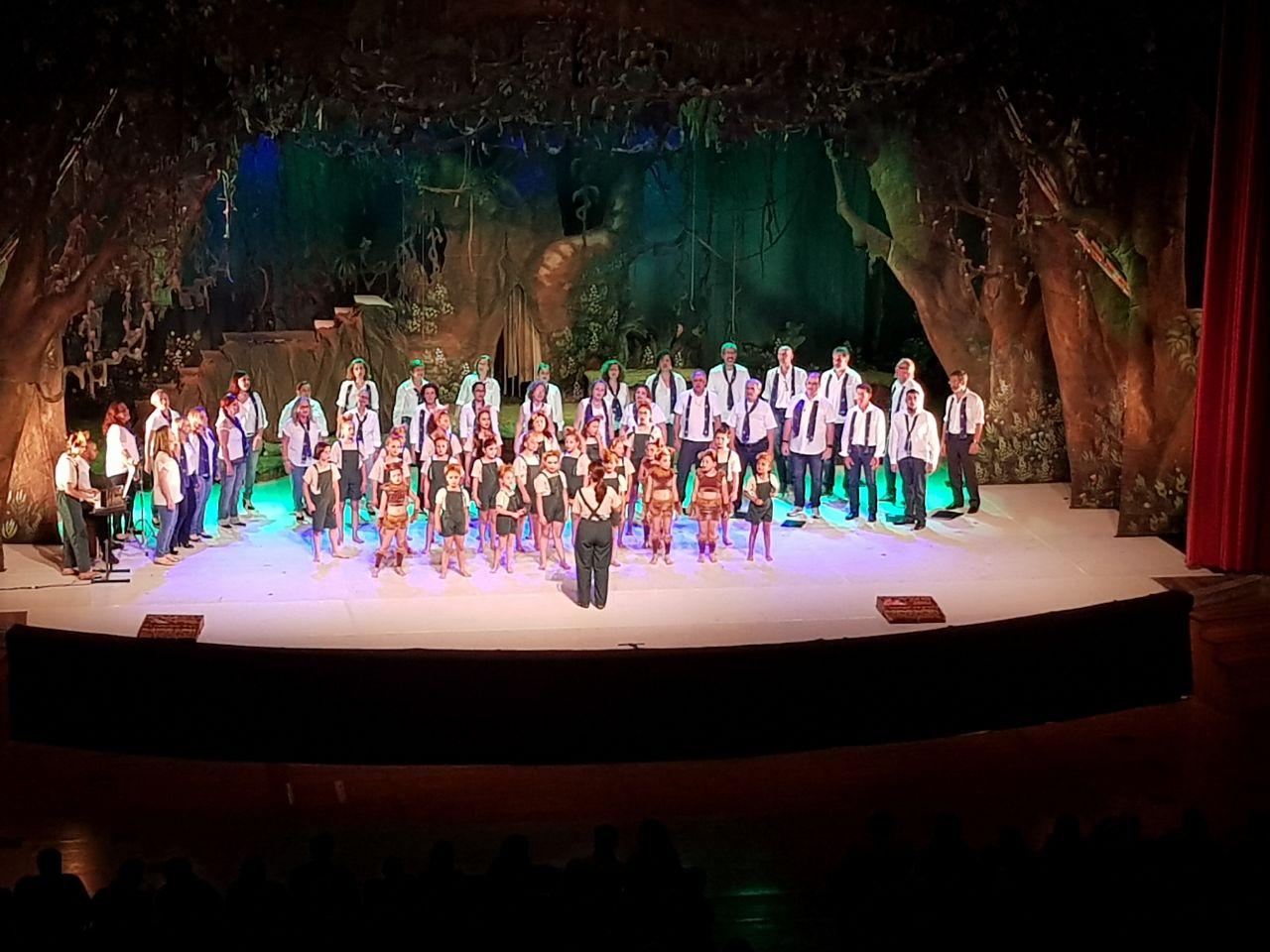 """""""Tarzan"""" (com o grupo de dança do Clube) – Teatro Polytheama  (27/11/2017)"""