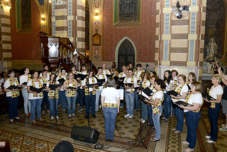 Virada Negra - Missa dos Quilombos (19/11/ 2013) - Catedral Nossa Senhora do Desterro