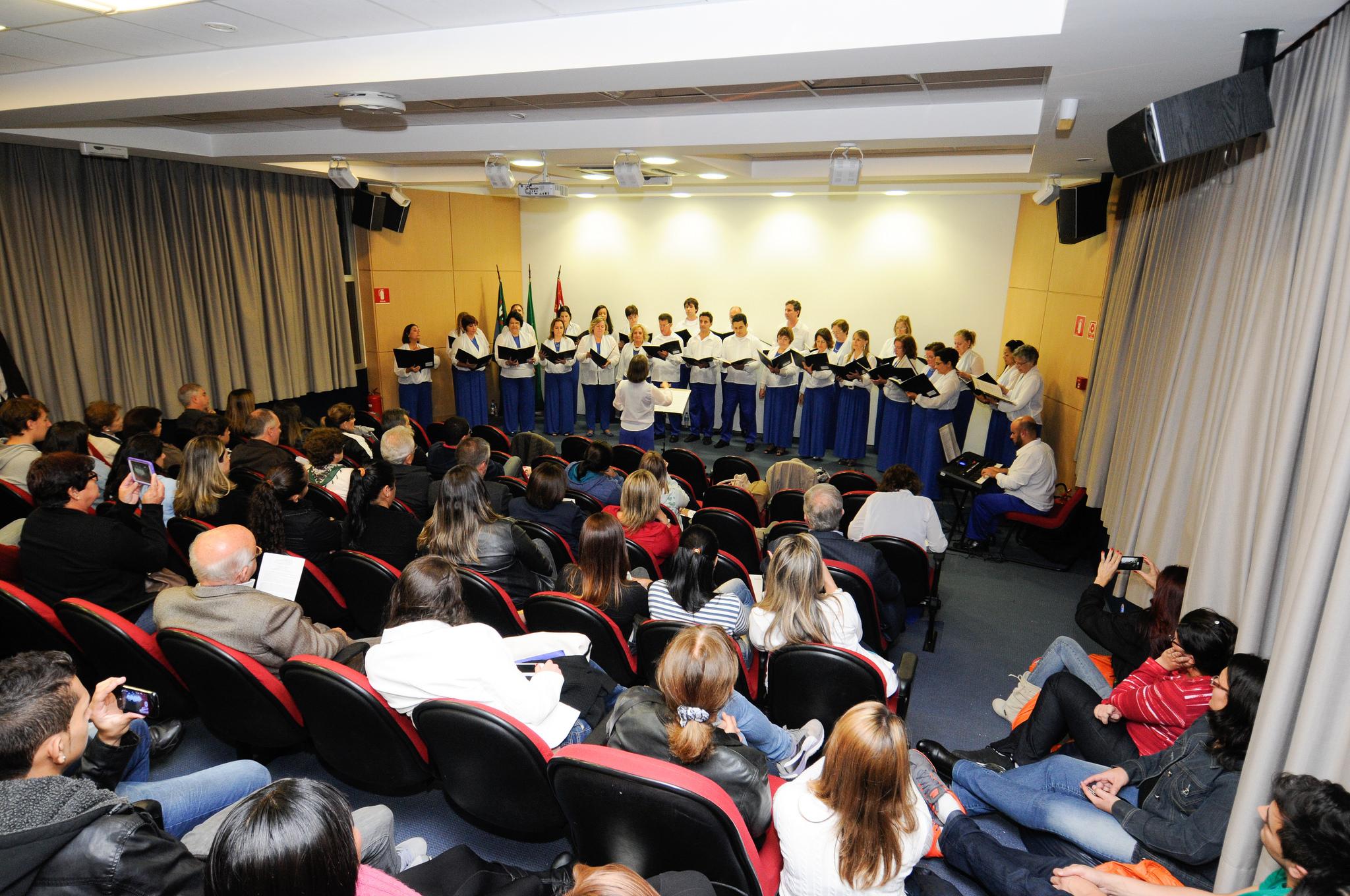 Apresentação no auditório do SENAC Jundiaí - (10/06/2014)